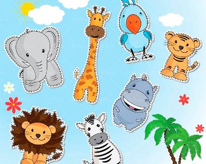 شعر کودکانه باغ وحش