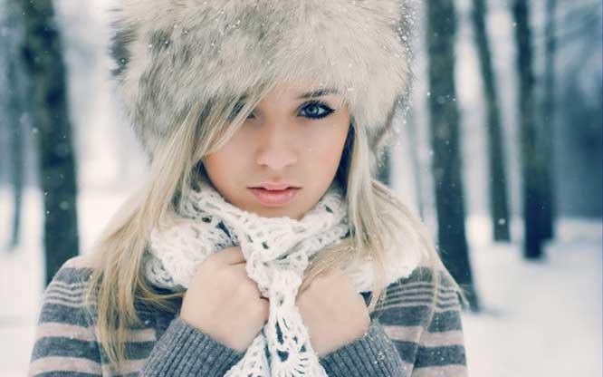 چگونه در فصل زمستان آرایش کنم؟