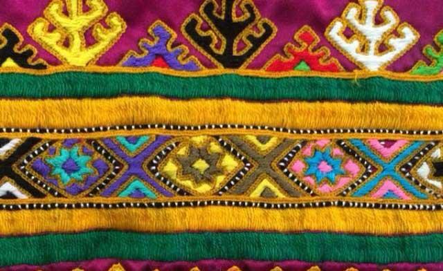 هنر سوزن دوزی بلوچستان