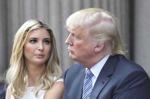 ترامپ و دخترش ایوانکا
