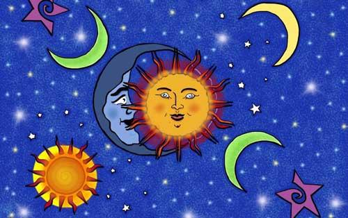 شعر کودکانه آفتاب مهتاب