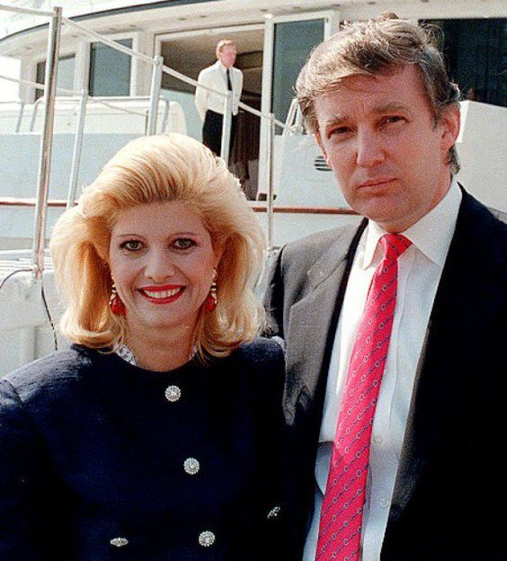 ایوانا همسر اول دونالد ترامپ