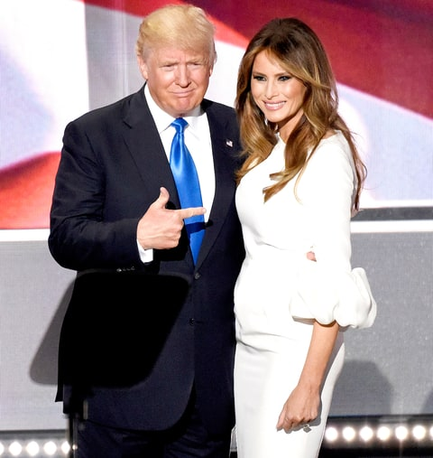 ملانیا همسر سوم دونالد ترامپ