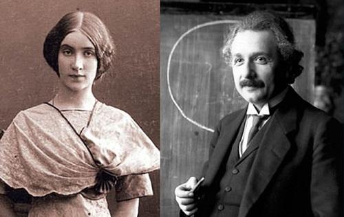 مارگاریتا و آلبرت انیشتن