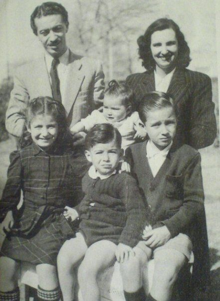 عکسهای شاپور بختیار به همراه همسر و فرزندانش