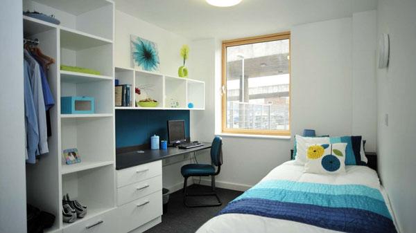 اتاق خواب یک دانش آموز