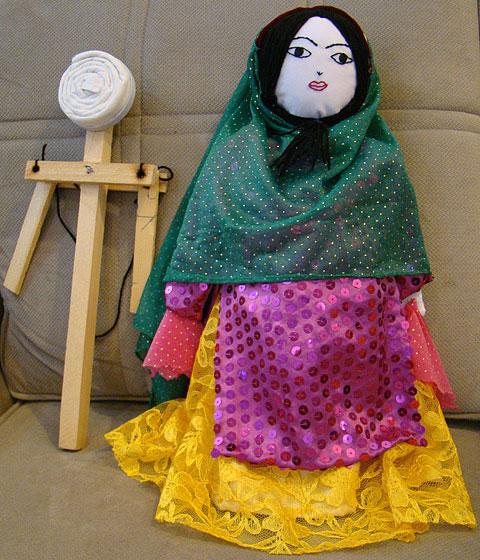 عروسک بازبازک؛ عروس خاموش بختیاری های خوزستان