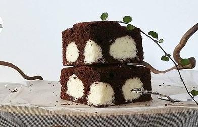 کیک توپک برفی