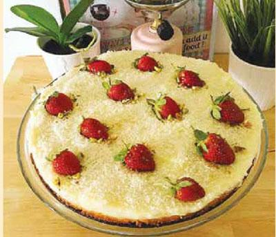 کیک عروس ترکیه ای